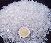 Bergkristall Chips