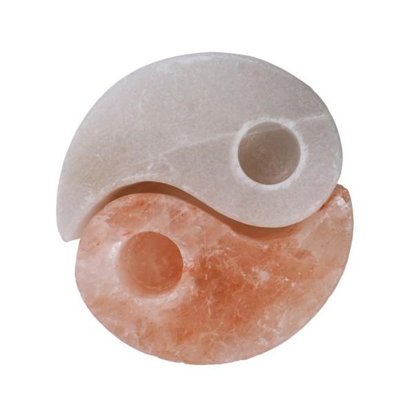 Salzteelicht Yin Yang